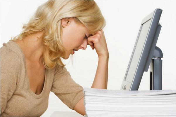 у женщины ослаблена трудоспособность