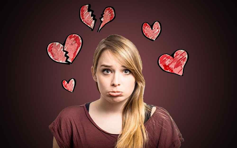 разочарованая девушка
