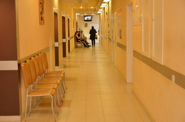 в коридоре