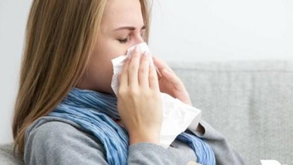 При простуде