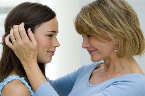 мама и дочь
