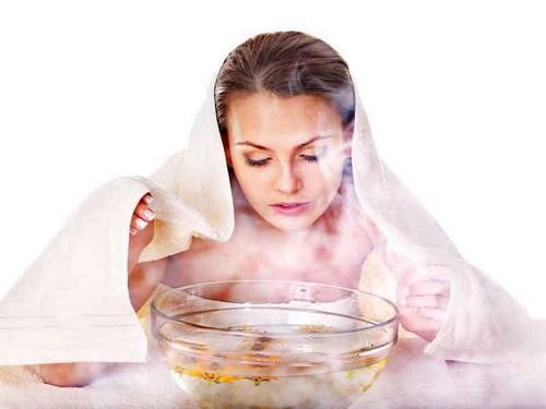 распарить кожу лица во время менструации
