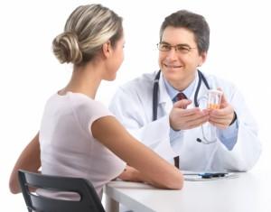 на консультации врача
